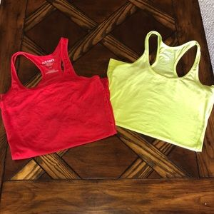 Old Navy Fitted Tanks